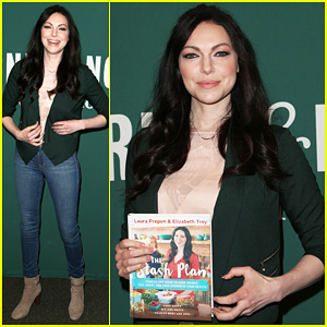 Laura Prepon's 'The Stash Plan' Hits The New York Times Bestseller List!