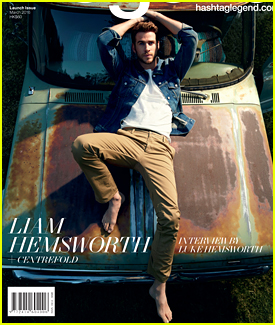 Liam Hemsworth Is Interviewed By Brother Luke for #legend Cover Feature
