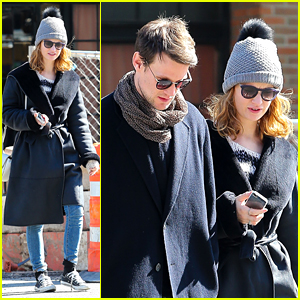 Lily James & Matt Smith Catch a Cab Together in New York City