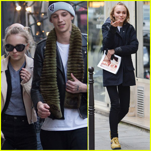 Lily-Rose Depp Steps Out With Rumored Boyfriend Ash Stymest