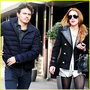 Lindsay Lohan Steps Out with Boyfriend Egor Tarabasov!