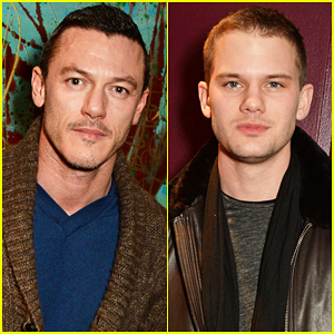 Luke Evans & Jeremy Irvine Are Handsome Studs At 'Welcome Home, Captain Fox' Opening!