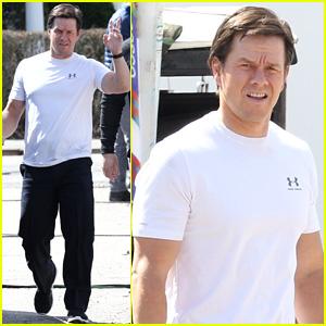 Mark Wahlberg Begins Filming 'Patriots Day' in Boston