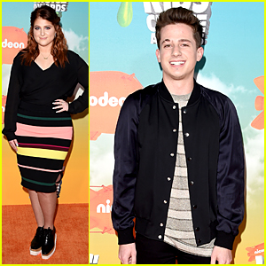 Meghan Trainor & Charlie Puth Have Duet Duel at Kids Choice Awards 2016