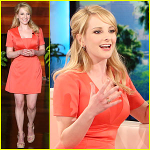Melissa Rauch Used to Perform Ellen DeGeneres' Stand-Up Routine as a Child