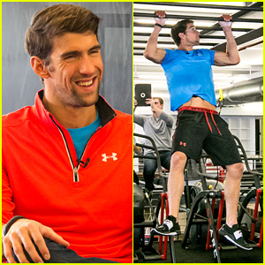 Michael Phelps Teams with Under Armour for 'Rule Yourself' Campaign Pre-Summer Olympics!