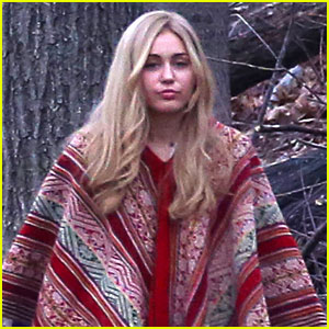 Miley Cyrus Brings Back Long Hair for Woody Allen Project