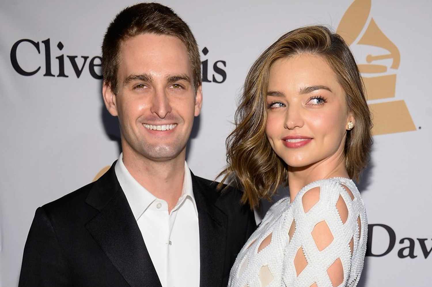 Image: Miranda Kerr and Evan Spiegel