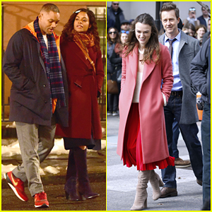 Naomie Harris Joins Will Smith On 'Collateral Beauty' Set!
