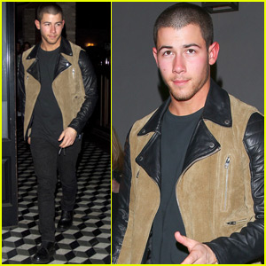 Nick Jonas Steps Out After ACM Awards Performance Announcement