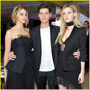 Nicola Peltz Attends Daily Front Row Awards with Brother Will