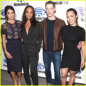 Nikki Reed & Lyndie Greenwood Talk 'Sleepy Hollow' at WonderCon 2016