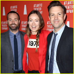 Olivia Wilde Has a Night Out With Hubby Jason Sudeikis & Will Forte