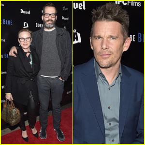 Patricia Arquette Brings Boyfriend Eric White To Ethan Hawke's 'Born To Be Blue' Premiere!