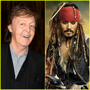 Paul McCartney Joins Johnny Depp in 'Pirates of the Caribbean 5'