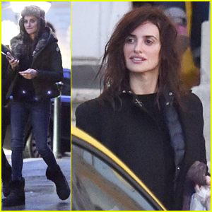 Penelope Cruz Begins Filming 'Queen Of Spain' In Budapest!