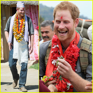 Prince Harry Is Staying With a Local Family in Nepal