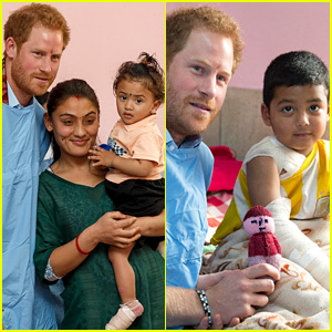 Prince Harry Visits a Children's Hospital, Announces He's Extending His Stay in Nepal