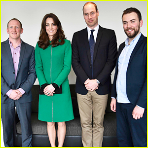 Prince William & Kate Middleton Team Up To Support Suicide Prevention