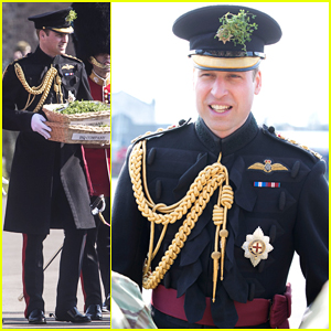 Prince William Leads St. Patrick's Day Parade In London!