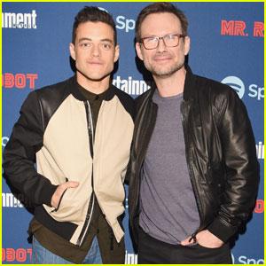 Rami Malek & Christian Slater Celebrate 'Mr. Robot' at SXSW