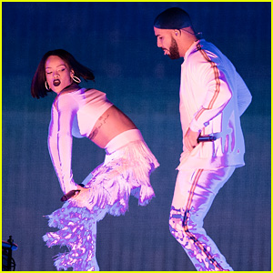 Drake Joins Rihanna During 'Anti' Tour for 'Work' Performance - Watch Now!