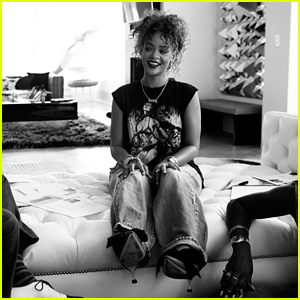 Rihanna Launches Global Shoe Collection With Manolo Blahnik