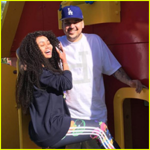 Rob Kardashian & Blac Chyna Spend the Day at Legoland!