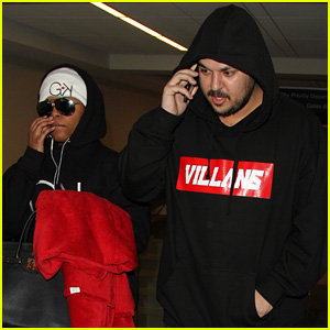 Rob Kardashian & Blac Chyna Spotted Together After Reported Breakup Drama
