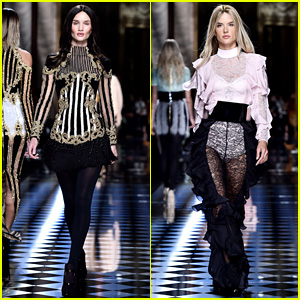 Rosie Huntington-Whiteley & Alessandra Ambrosio Get Hair Makeovers for Balmain!