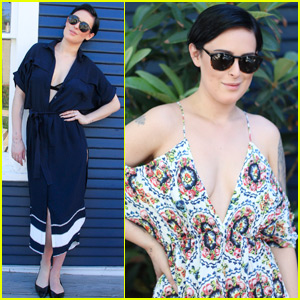 Rumer Willis Gets Matchy at SXSW Style Brunch