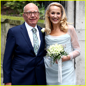 Rupert Murdoch & Jerry Hall Get Married Again - Wedding Pics!