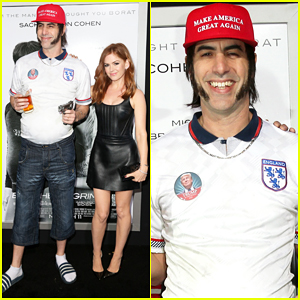 Sacha Baron Cohen Calls Out Donald Trump At 'Brothers Grimsby' Premiere: 'He's A Demagogue'