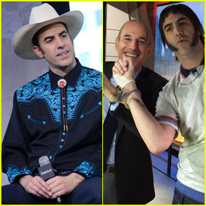 Sacha Baron Cohen Handcuffs Himself to Matt Lauer (Video)