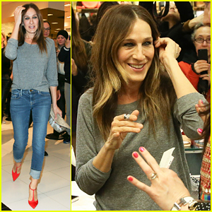 Sarah Jessica Parker Says She Owes Carrie Bradshaw For Shoe Line Opportunity!