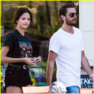 Scott Disick Steps Out With Mystery Brunette in Calabasas