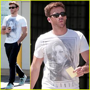 Scott Eastwood Wears a Gisele Bundchen T-Shirt in L.A.!