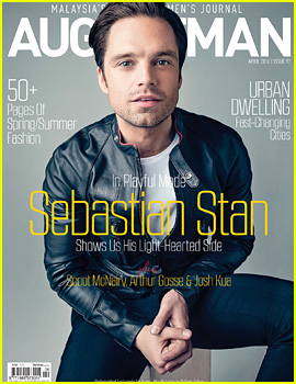 Sebastian Stan Covers 'August Man Malaysia' April 2016 (Exclusive)