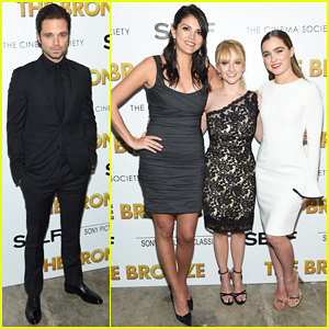 Sebastian Stan & Melissa Rauch Premiere 'The Bronze' In NYC!