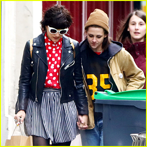 Kristen Stewart & Soko Hold Hands in Paris, Are 'Smiling Non Stop'