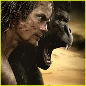 'Tarzan' Trailer Features Lots of Shirtless Alexander Skarsgard - Watch Now!