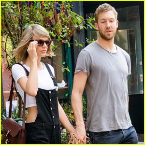 Taylor Swift & Calvin Harris Celebrate One Year Anniversary!