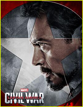Robert Downey, Jr. & #TeamIronMan Get 'Civil War' Posters!