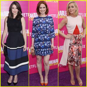 Tiny Fey & Ellie Kemper Premiere 'Unbreakable Kimmy Schmidt' Season Two in NYC