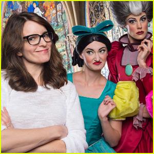 Tina Fey Meets With Disney's Original Mean Girls!