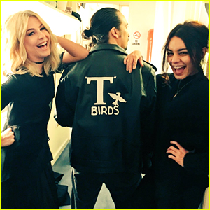 Julianne Hough & Vanessa Hudgens Find A New T-bird at 'Hamilton'!