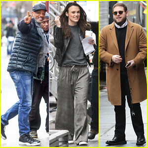 Will Smith, Keira Knightley & Jonah Hill Get Back To Work On 'Collateral Beauty'!