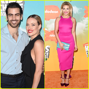 Peta Murgatroyd Takes Nyle DiMarco To Kids Choice Awards 2016