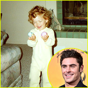 Zac Efron Shares Adorable Throwback Pic For Easter