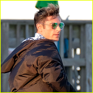 Zac Efron Gets New Look on Set of 'Baywatch'